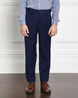 navy Paul Costelloe Living Navy Trousers