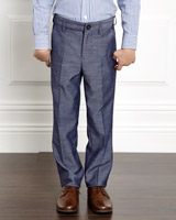 blue Paul Costelloe Blue Trousers
