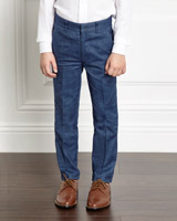 blue Paul Costelloe Living Boys Trousers
