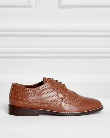 Paul Costelloe Living Leather Brogue Shoes