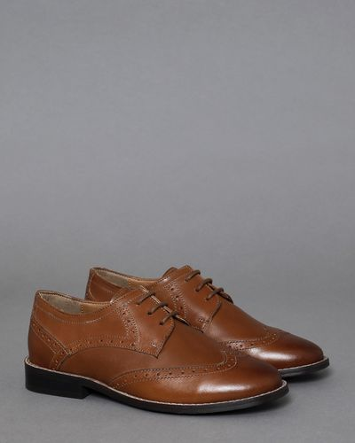 Paul Costelloe Living Boys Leather Brogues