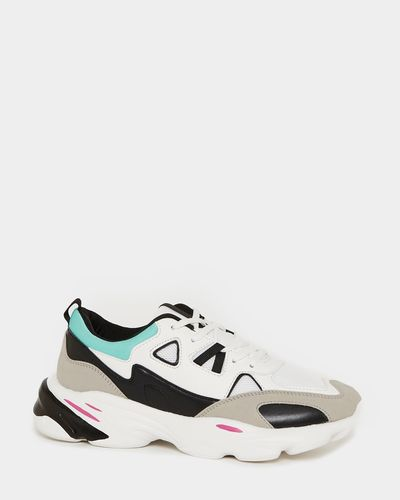 Multi Chunky Trainers