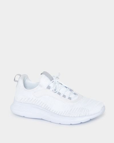 All White Sport Trainers
