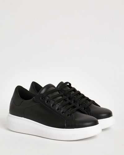 Gallery Thick Sole Lace Up Shoes thumbnail