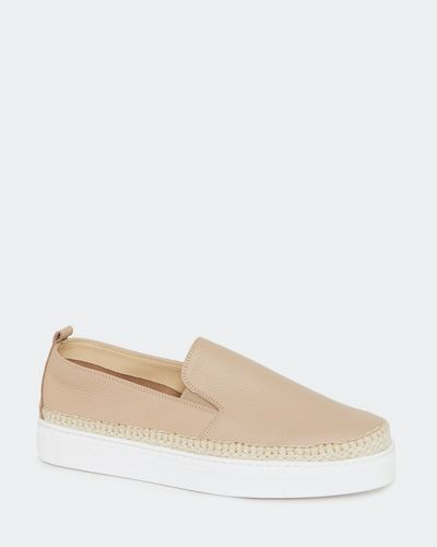Leather Rope Edge Shoes