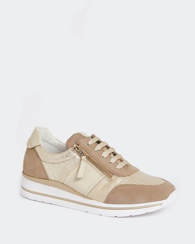 Leather Sporty Side Zip Shoe thumbnail
