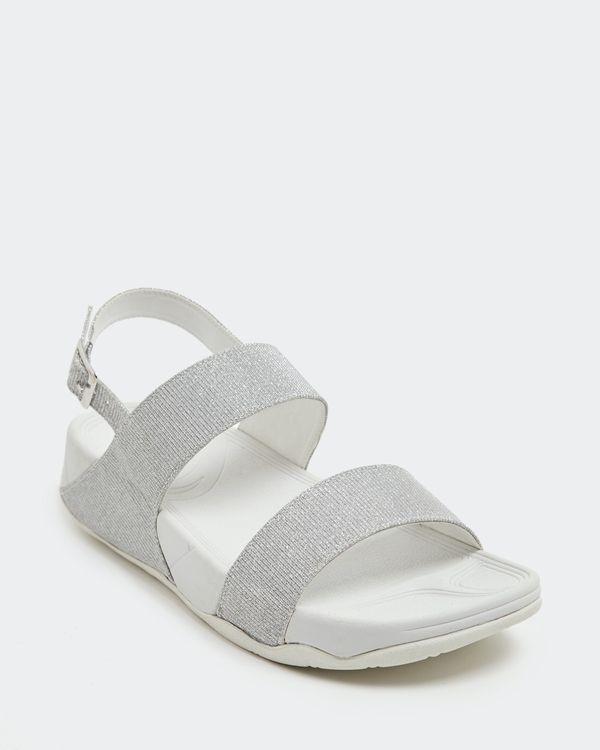 Double Strap Glitter Sandal