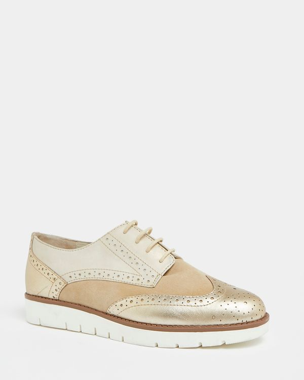 Leather Brogue Shoe