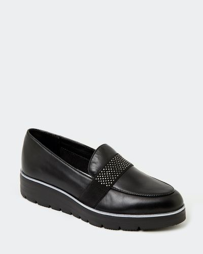 Leather Bead Tab Loafer thumbnail