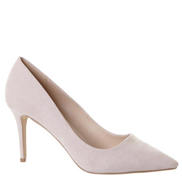 blush Mid-Heel Court Shoe