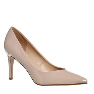 nude V-Front Court Shoe