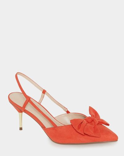 Bow Sling Backs