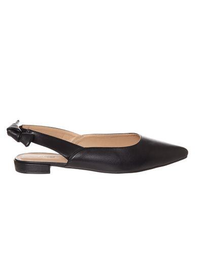 Bow Slingback Flat Shoe