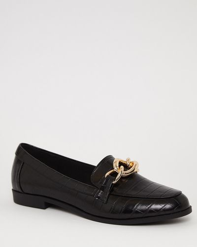 Croc Chain Loafer