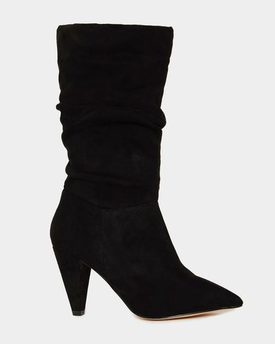 Calf Slouch Boots