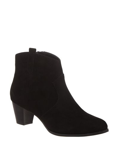 Tab Western Ankle Boots