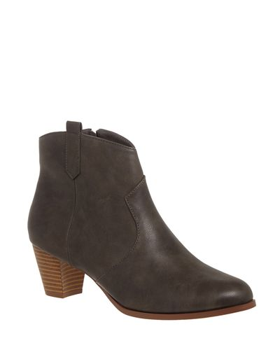 Tab Western Ankle Boots thumbnail