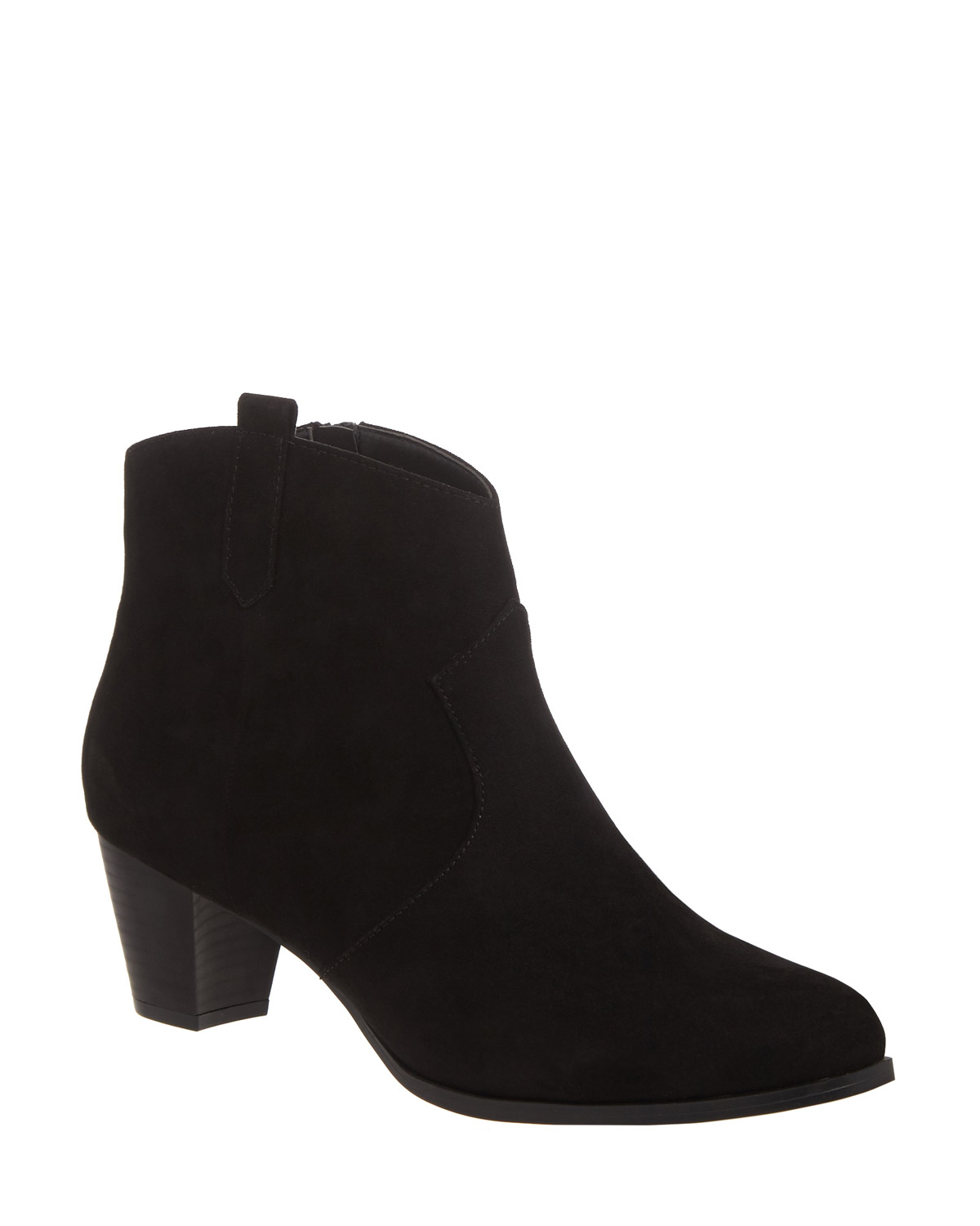 2d925e07ffc Tab Western Ankle Boots