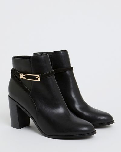 Long Buckle Boot
