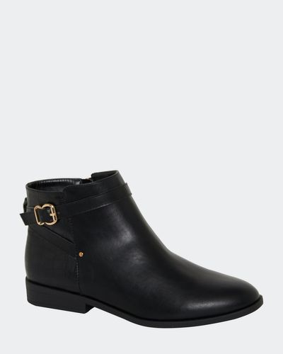 Croc Back Boot With Buckle