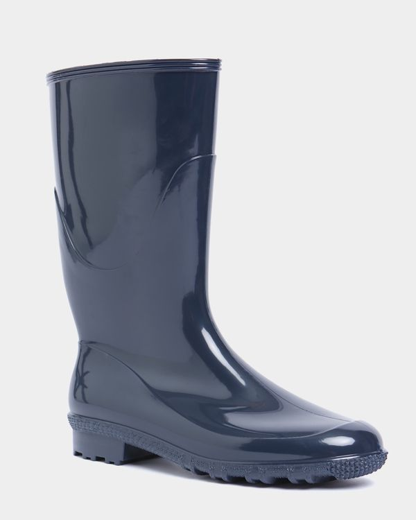 Contrast Midi Wellington Boot
