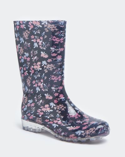 Ditsy Print Wellie