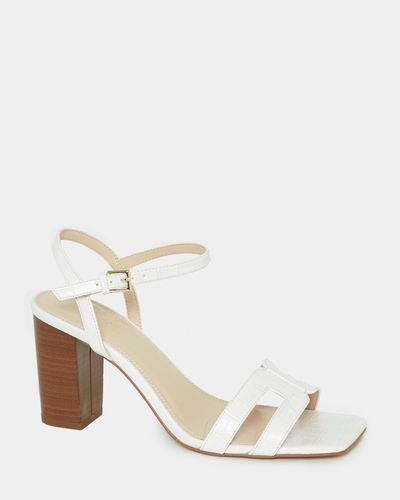 Square Cut Out Sandal