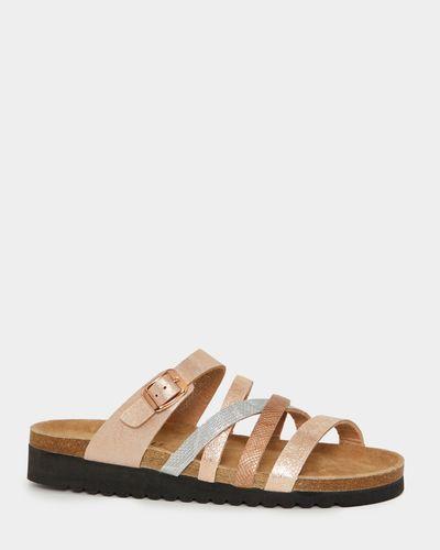 Strap Footbed Sandals