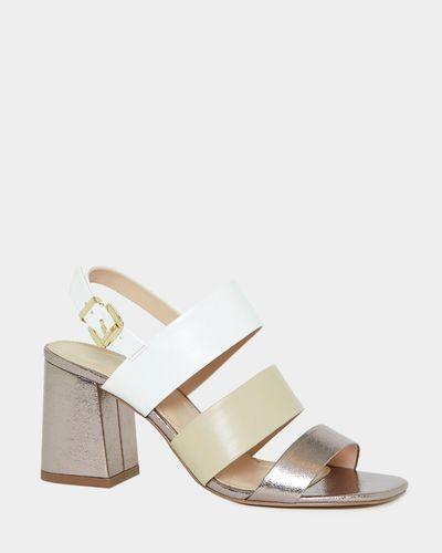 Contrast Strap Sandal