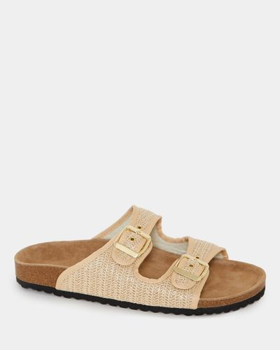 Buckle Footbed Sandals thumbnail