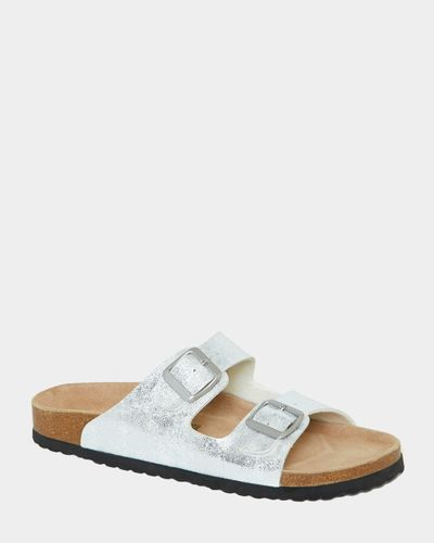 Buckle Footbed Sandals