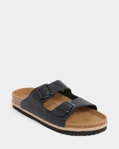 Buckle Footbed Sandal