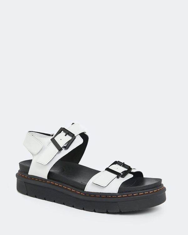Leather Chunky Buckle Sandal