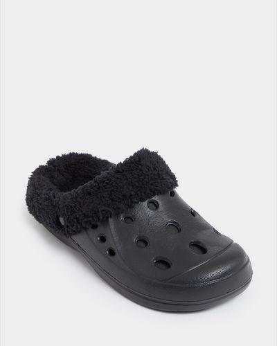 Faux Fur Clog Shoe thumbnail