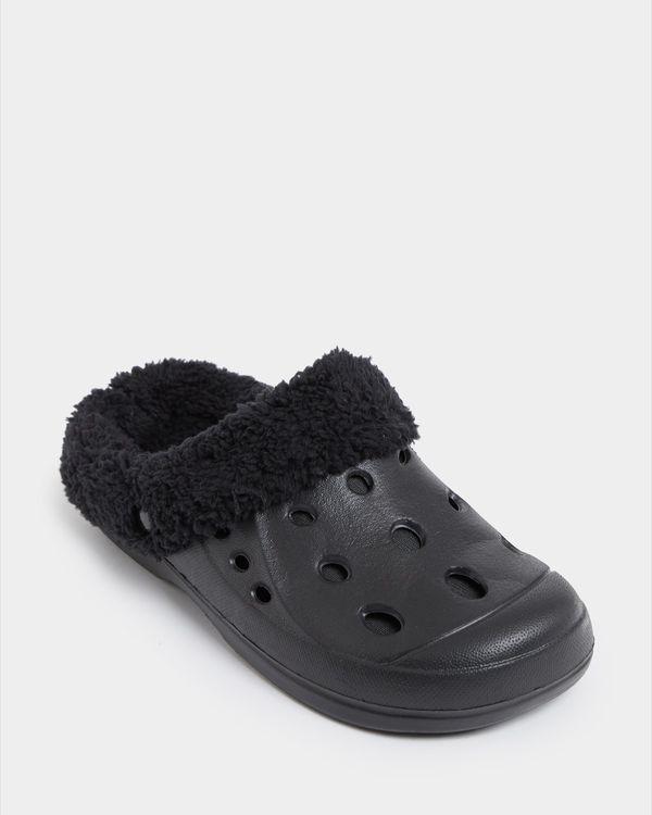 Faux Fur Clog Shoe