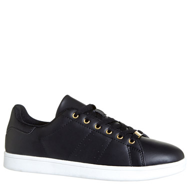 blackLace Up Casual Shoes