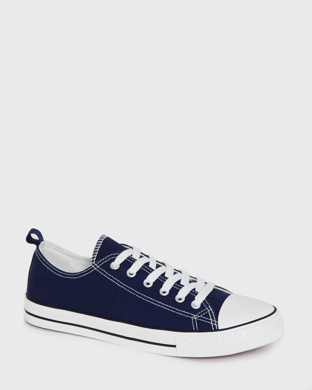 Dunnes Stores | Navy Canvas Toe Cap Shoes