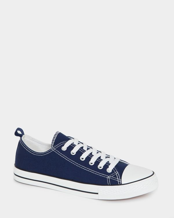 Canvas Toe Cap Shoes