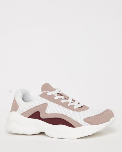 Chunky Casual Lace Up Trainers