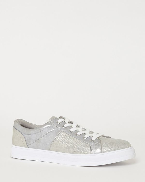 Low Profile Lace Up Casual