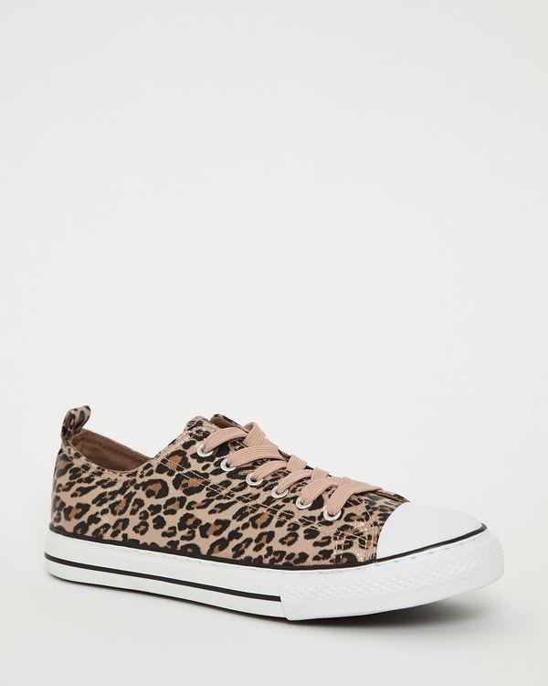 Leopard Toe Cap