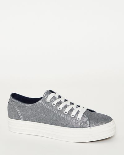 Platform Lace-Up Shoe