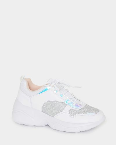 Holographic Mesh Chunky Trainer