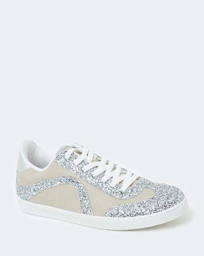 Glitter Detail Lace Up Trainer