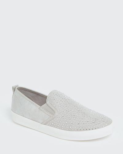 Jewel Slip On Shoes