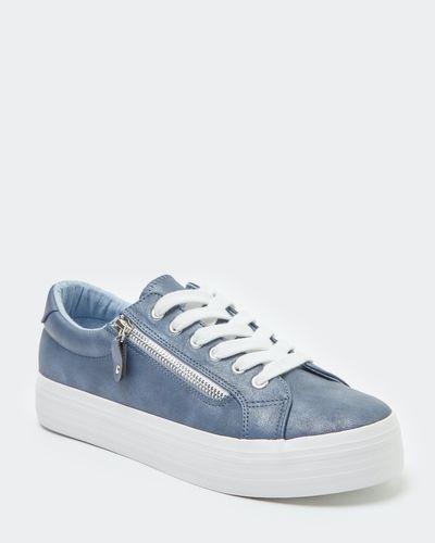 Platform Side Zip Shoes thumbnail