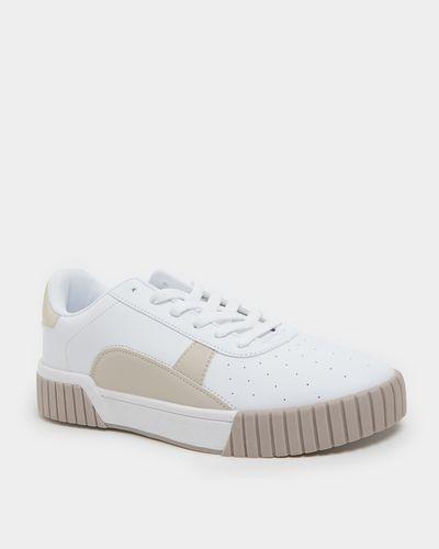 Rib Sole Casual Lace Shoe