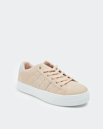Quilted Casual Lace Up
