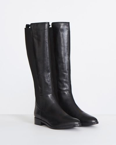 Gallery Leather Knee Boots thumbnail