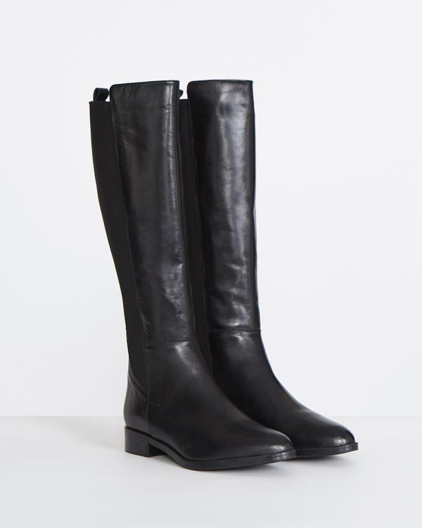 Gallery Leather Knee Boots